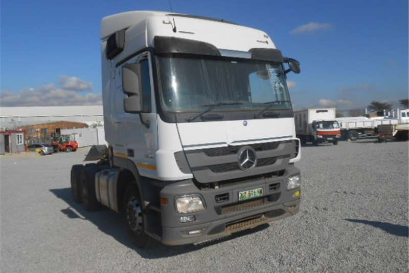 Mercedes Benz Actros Others 2646 6 x 4 Mechanical Horse With Hydraulics 2015