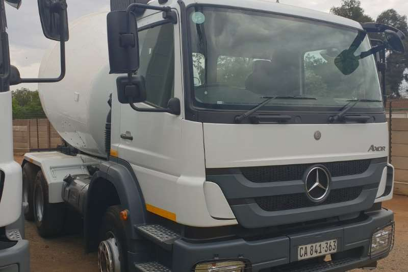 Mercedes Benz Axor 2628 with TFM drum.