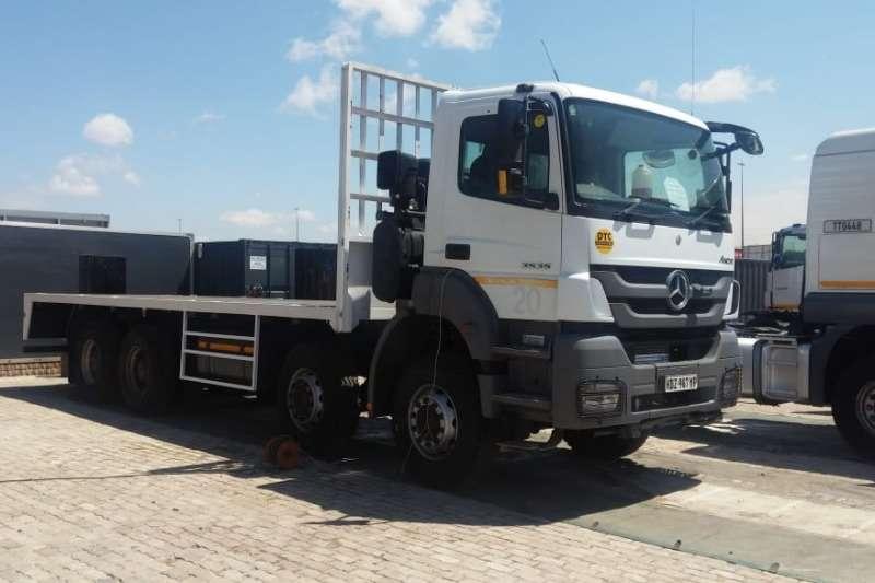Mercedes Benz Axor 3535 8x4 Rigid Truck