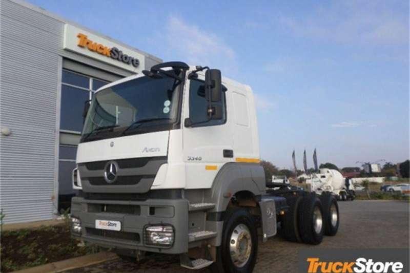 Mercedes Benz Axor Truck-Tractor 3340S/33 2012
