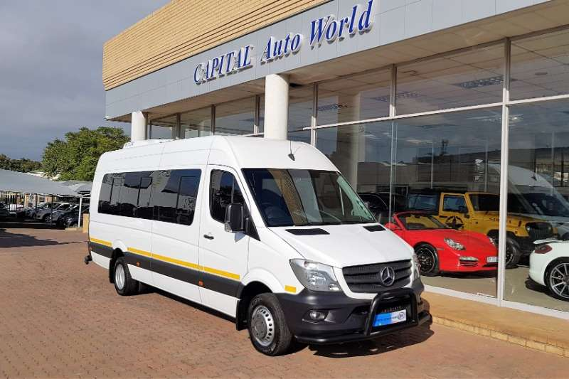 Mercedes Benz Buses 14 Seater Sprinter 519 CDI XL Climatic Conversion 2017