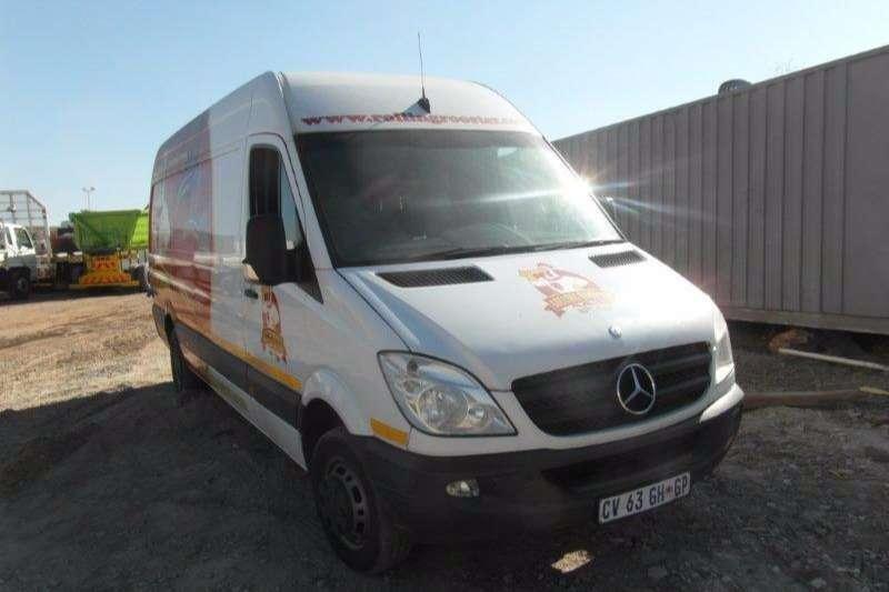 Mercedes Benz Sprinter 518 CDI Mobile Kitchen With Fridge