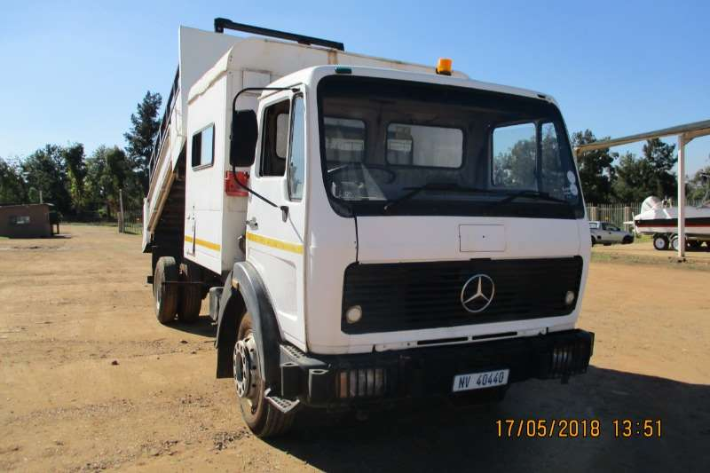 Mercedes Benz M/BENZ 1213 TIPPER WITH PERSONEL CARRIER