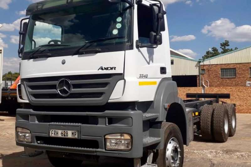 Mercedes Benz Truck Chassis Cab Axor 3340 2011