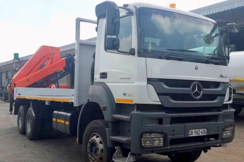 Mercedes Benz Crane truck Axor 3335 Truck