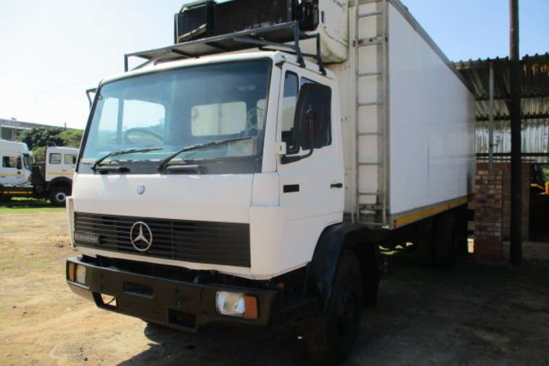 Mercedes Benz Truck Fridge Truck MERCEDES BENZ 1214 ECONOLINER REFRIGERATED TRUCK