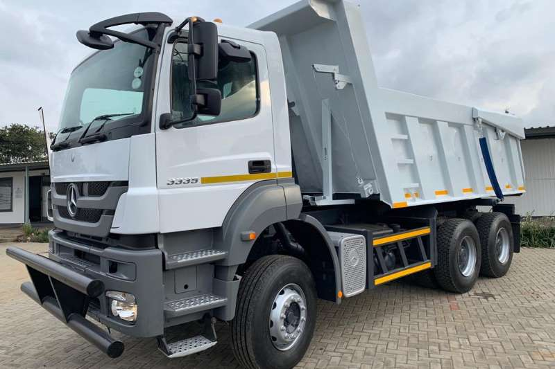 Mercedes Benz Truck Tipper 2012 MBenz 3335K Double Axle Tipper Truck 2012
