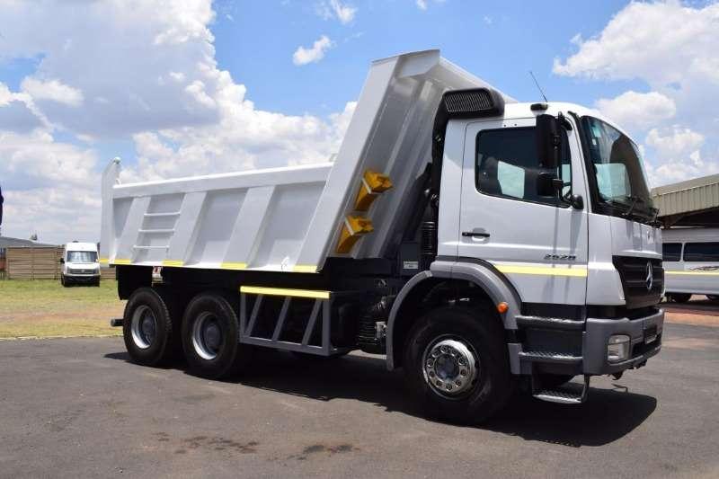 Mercedes Benz Truck Tipper AXOR 2628 10 CUBE 2010