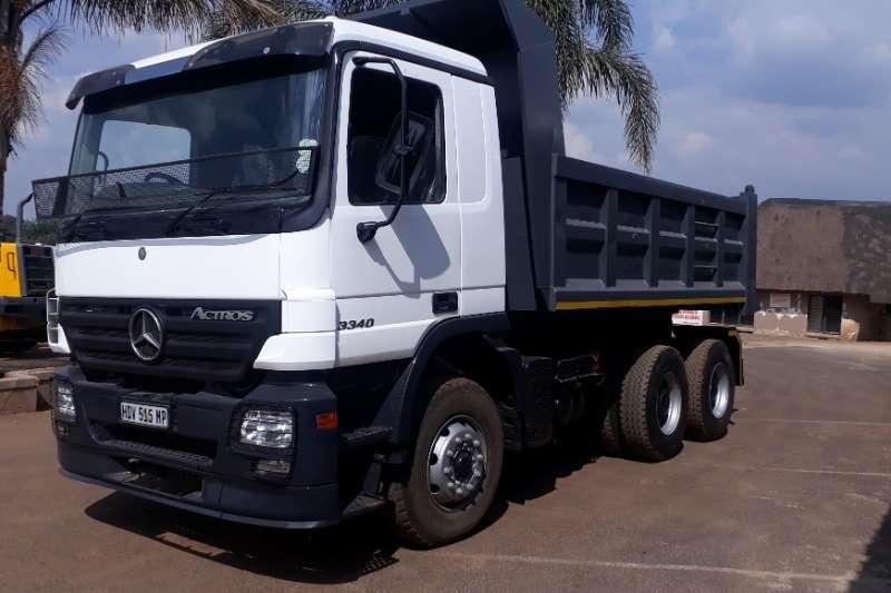 Mercedes Benz Tipper MERCEDES ACTROSS 10 CUBE TIPPER Truck