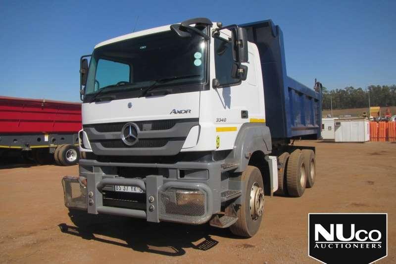 Mercedes Benz Truck Tipper MERCEDES BENZ AXOR 3340 10M3 TIPPER