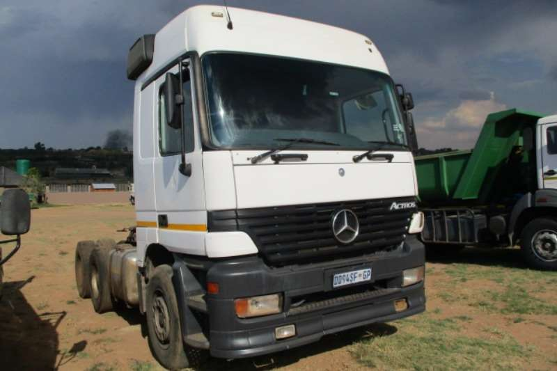 Mercedes Benz Truck-Tractor Double Axle M/BENZ ACTROS 2648 6X4 MECHANICAL HORSE