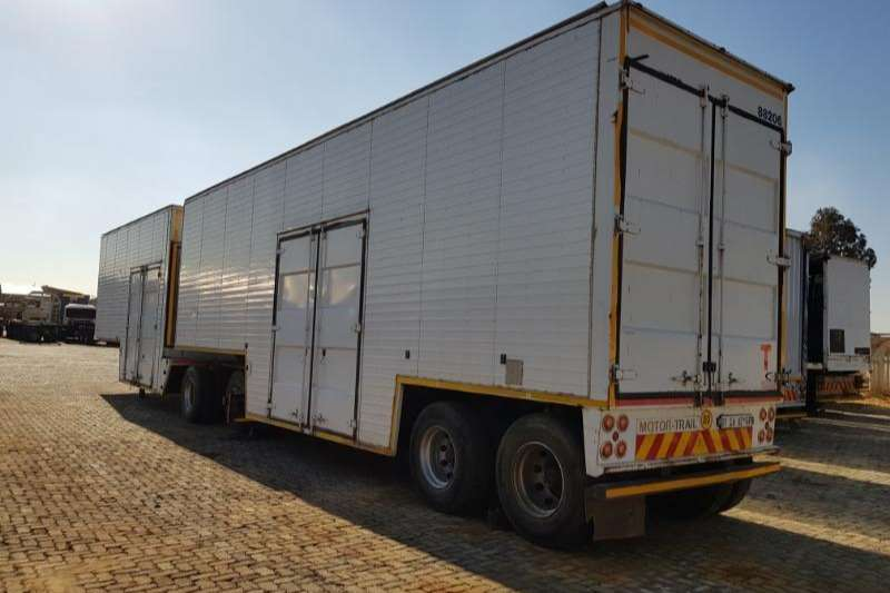 Motor Trail Pantech Pantech Closed Body Trailers