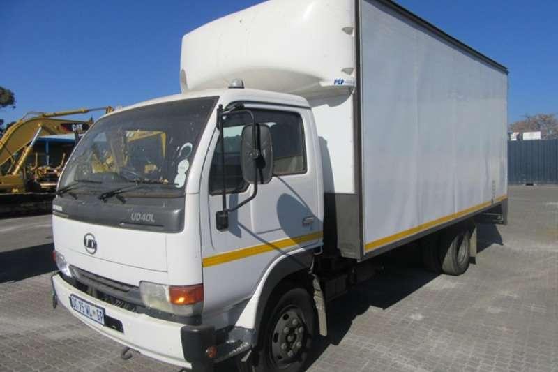 Nissan Truck Closed Body Nissan UD 40L Closed Truck Body Truck 2014
