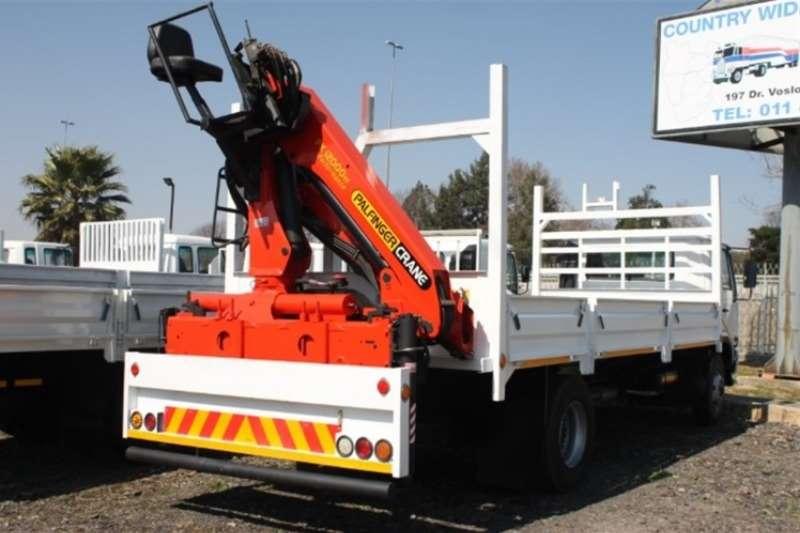Nissan Crane truck UD80 Dropsides with Palfinger PK12000 Crane Truck