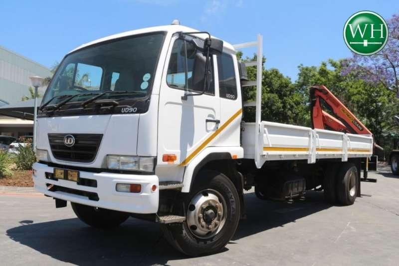 Nissan Truck Crane Truck UD90B Dropside with Palfinger PK1000 Crane 2010