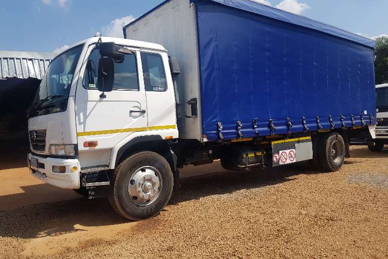Nissan Truck Curtain Side 2009 NISSAN UD90 TAUTLINER 8 TON TRUCK 2009