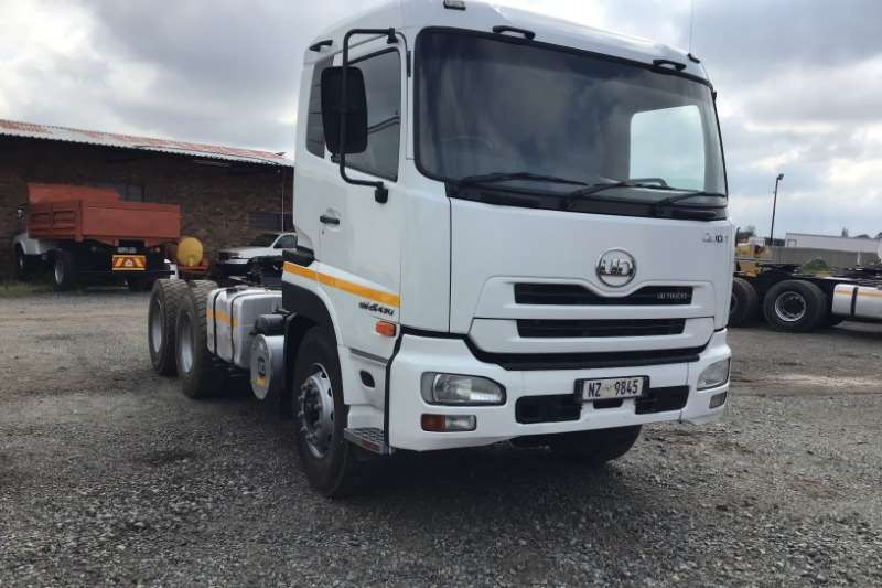 Nissan Truck-Tractor Double Axle 2013 Nissan  Quon GW26-490 2013