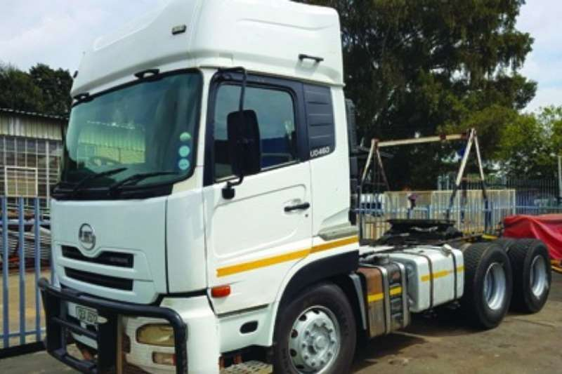 Nissan Double axle Nissan UD 460, Good Condition Truck-Tractor