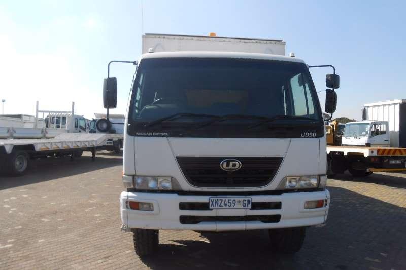 Nissan Van body NISSAN UD90 SERVICE UNIT Truck