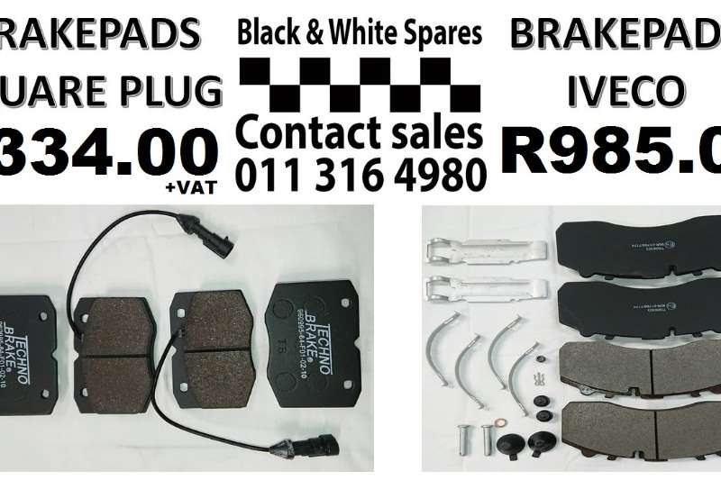 Other BRAKEPADS SQUARE PLUG / IVECO