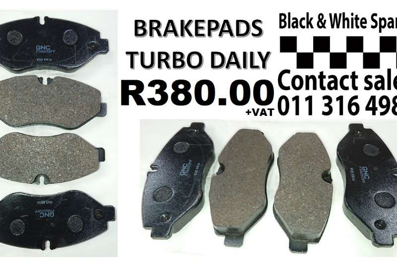 Other BRAKEPADS TURBO DAILY