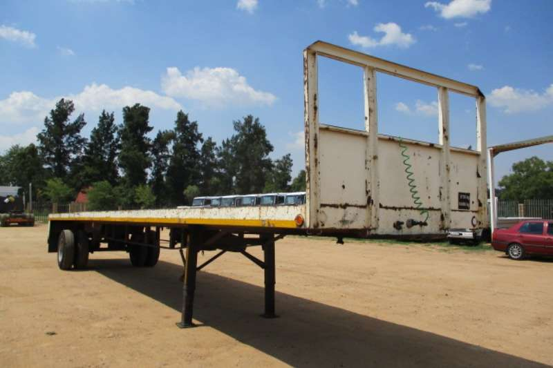 Other JB BROCKHOUSE SINGLE AXLE FLAT DECK TRAILER