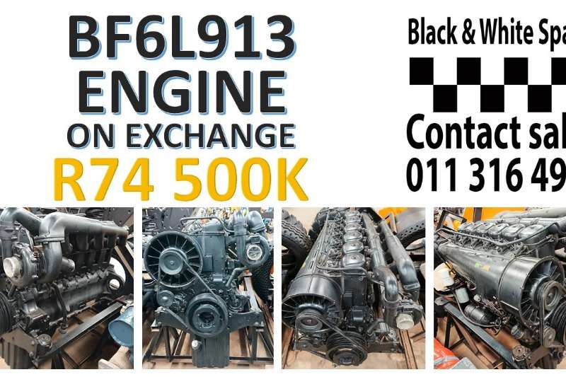 Other Spares BF6L913 ENGINE ON EXCHANGE
