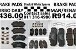 Other Spares BRAKE PADS TURBO DAILY / MAN / RENAULT