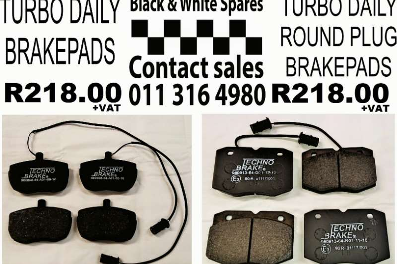 Other Brakepads Turbo Daily Spares