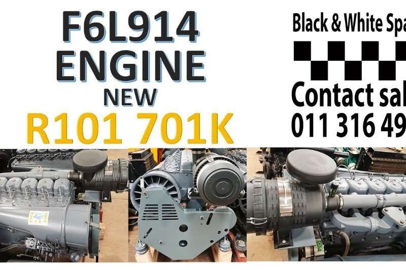 Other F6L914 ENGINE NEW Spares