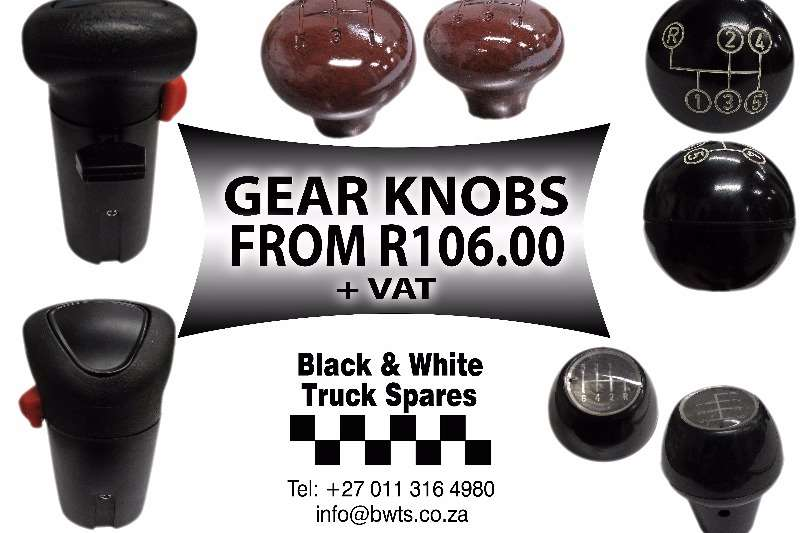 Other gear knobs from R106 Spares
