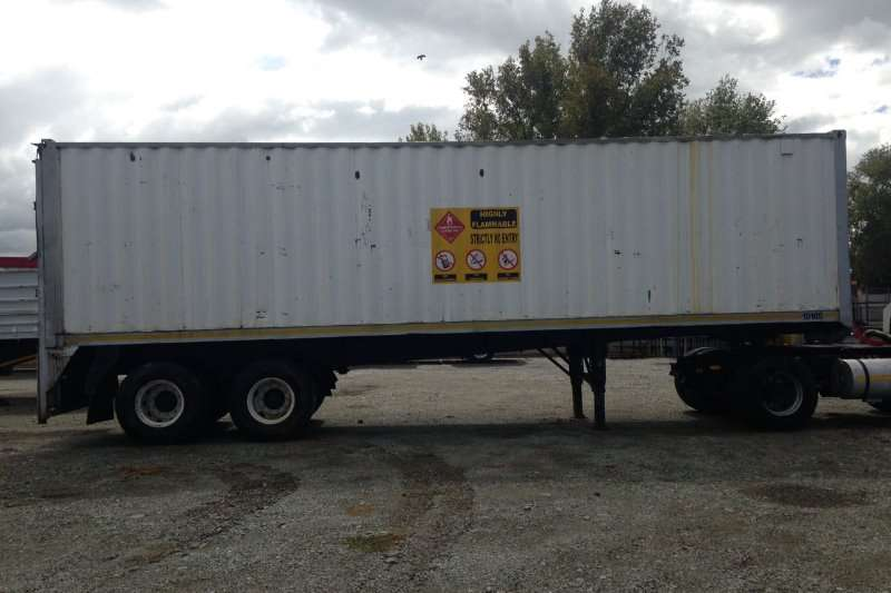 Other 1990 Double Axle Box Body Trailer Trailers