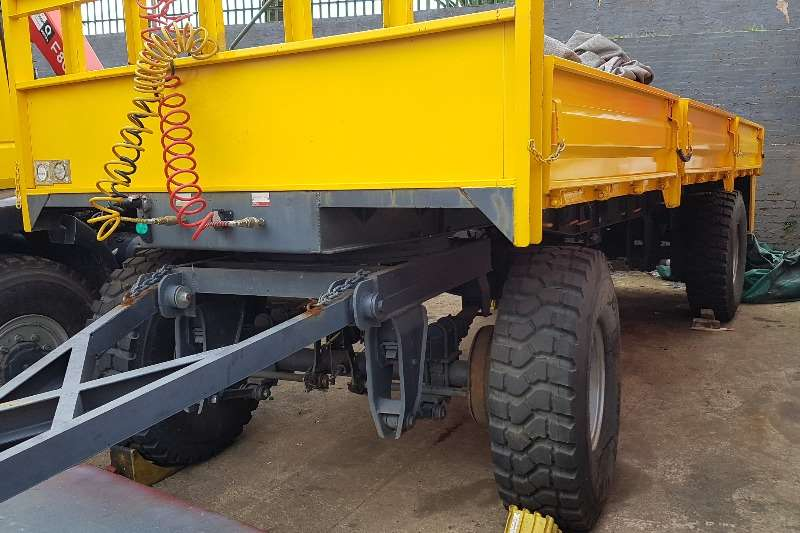 Other Trailers Drawbar A-XCELL 4x4 DROPSIDE DRAWBAR TRAILER 2016