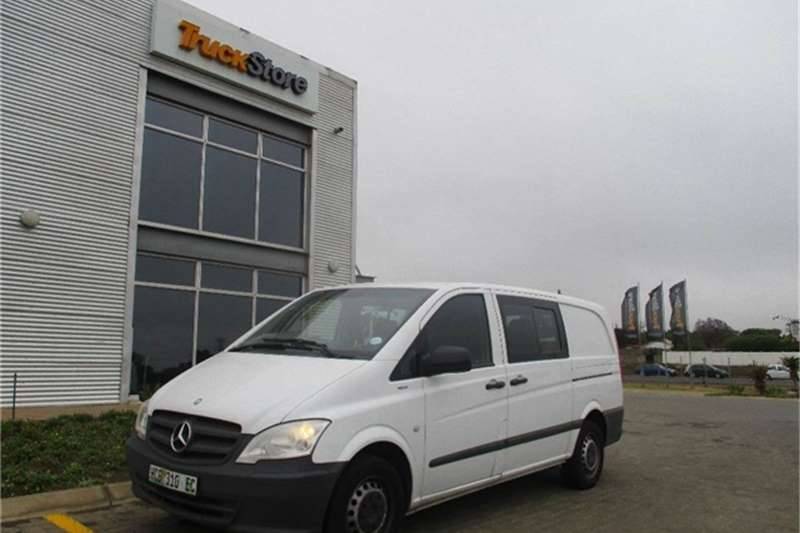 Others Mercedes Benz Vito 116CDI Crewcab Mercedes Benz 2013