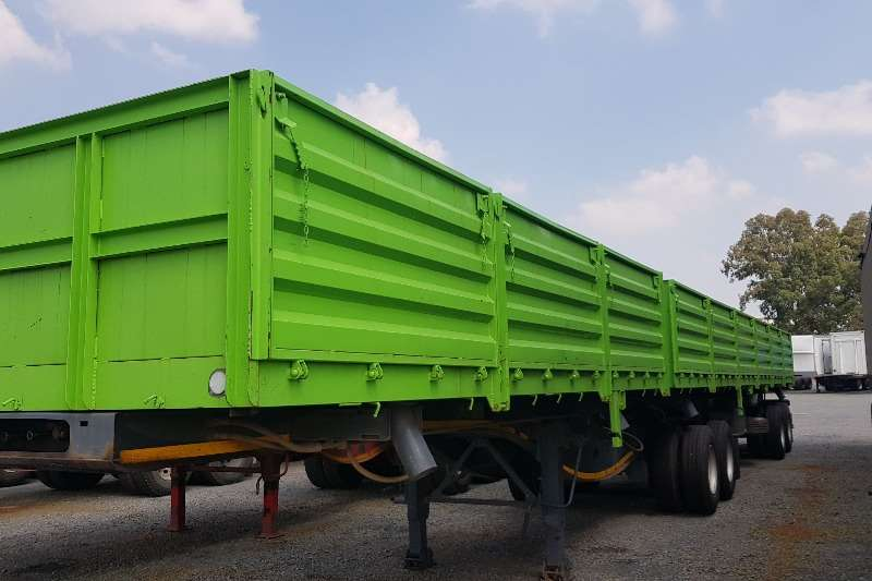 Paramount Superlink Superlink Dropside Side Tipper Trailers