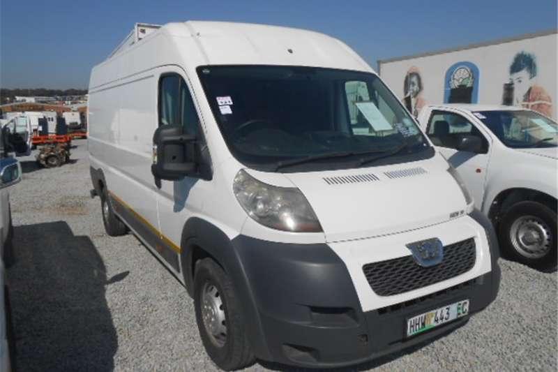 Peugeot Boxer Buses Panelvan 2014