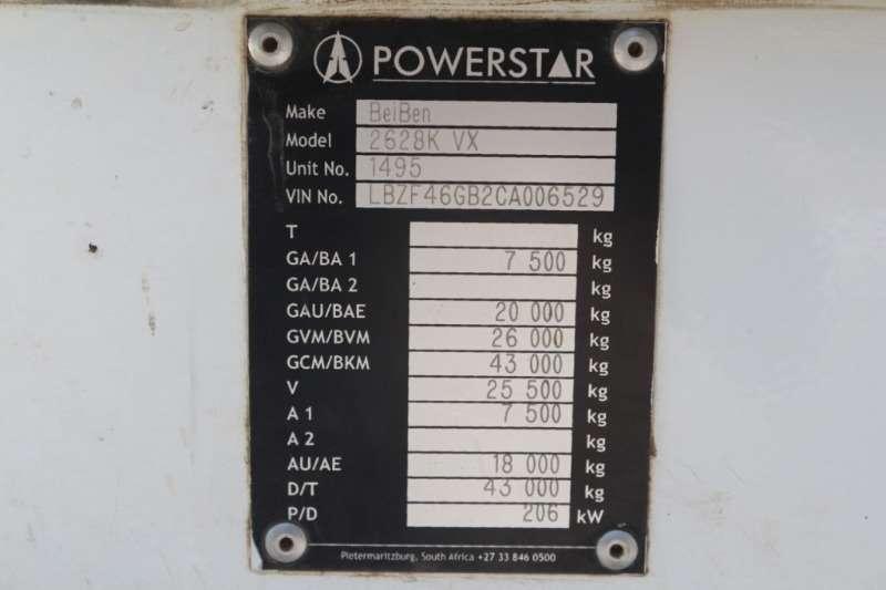Powerstar 2628V 6x410m3 Tipper