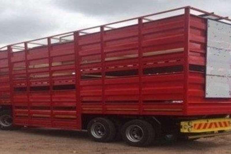 Ramkat Drawbar 3 Axle Double Deck Livestock Draw Bar Trailers