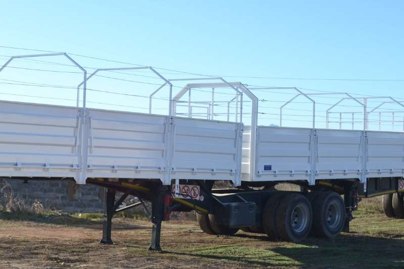 Ramkat Dropside Flat Deck Interlink , with Dropsides Trailers