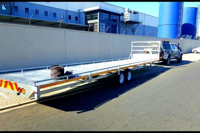 Ramkat Flat deck 3 Axle 15m Flat Deck Trailer Trailers