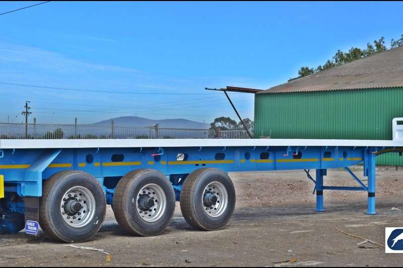 Ramkat Trailers High Sides 3 Axle Flat Deck Semi Trailer - Available Today 2019