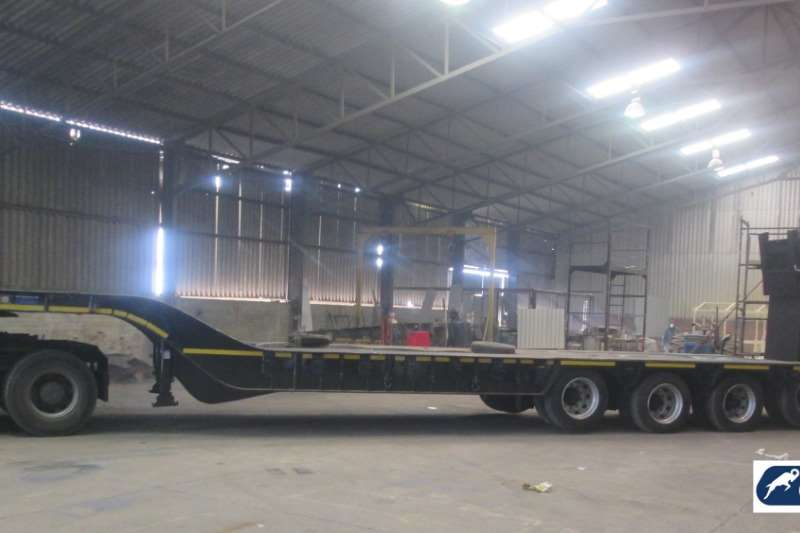 Ramkat Lowbed 3 Axle Lowbed Semi Trailers