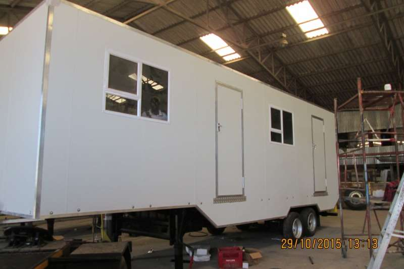 Ramkat Site office trailer Mobile Offices  Draw Bar Trailers Trailers