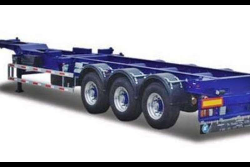 Ramkat Skeletal 3 Axle Skeletal Trailers