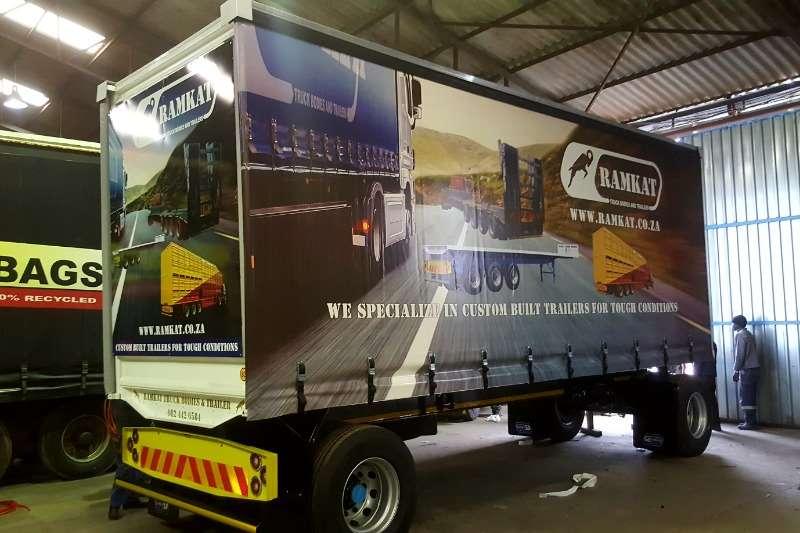Ramkat Tautliner 2 axle standard Height Tautliner Trailers