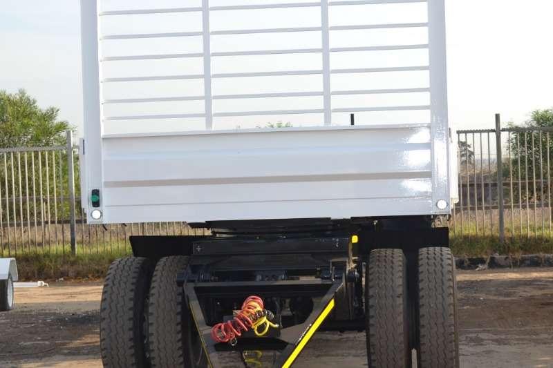 Ramkat Tri-Axle 9.6m Flatdeck Trailer with Draw Bar (4axle) Trailers