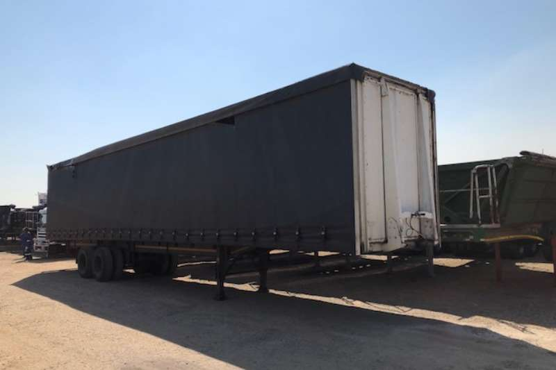 SA Truck Bodies double axle Tautliner