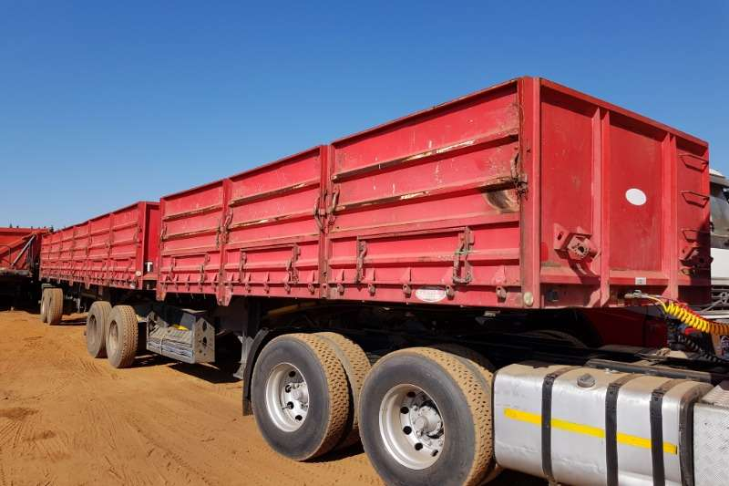 SA Truck Bodies Mass Side Links, Refurbished, New Tyres