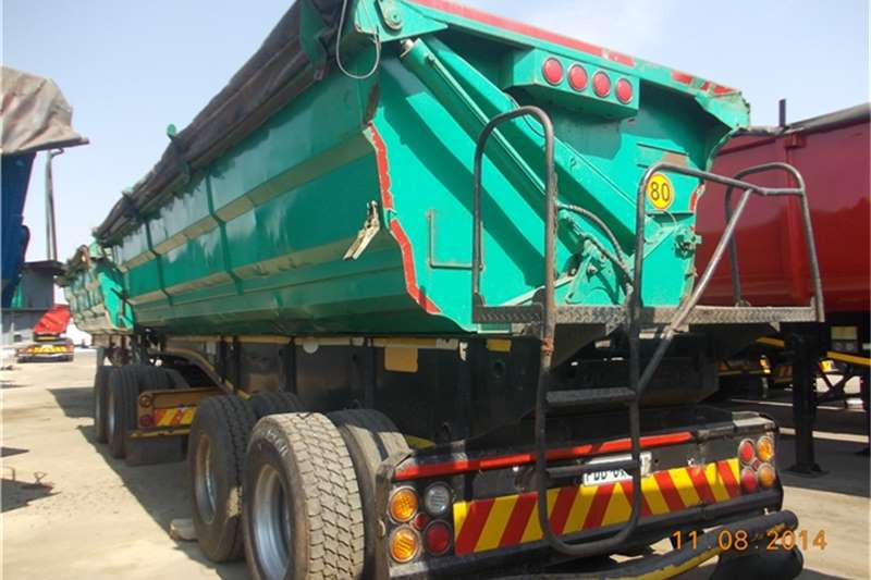 SA Truck Bodies superlink trailers