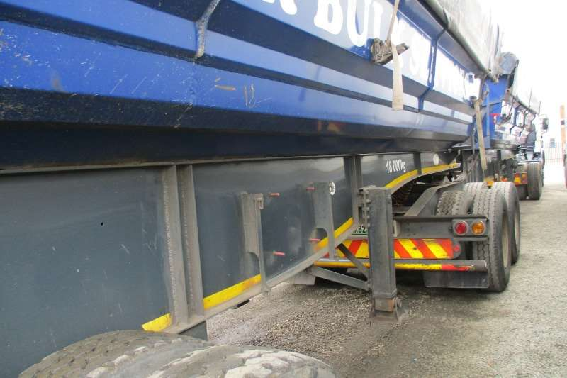 SA Truck Bodies 40m Side Tipper Link Combo's Trailers